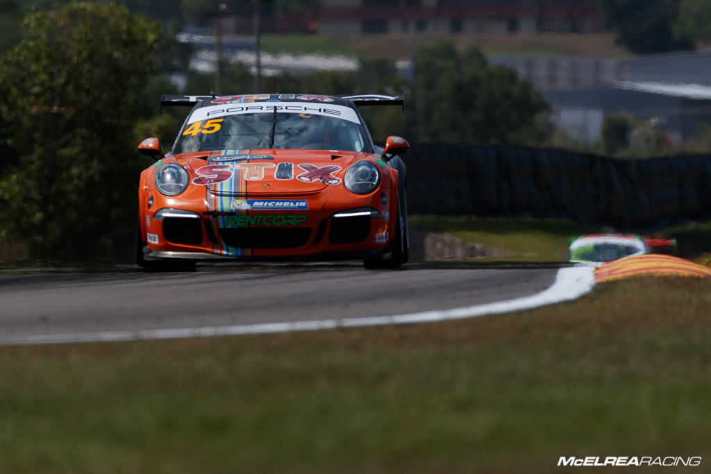 Duvashen Padayachee in the Porsche Carrera Cup at Darwin