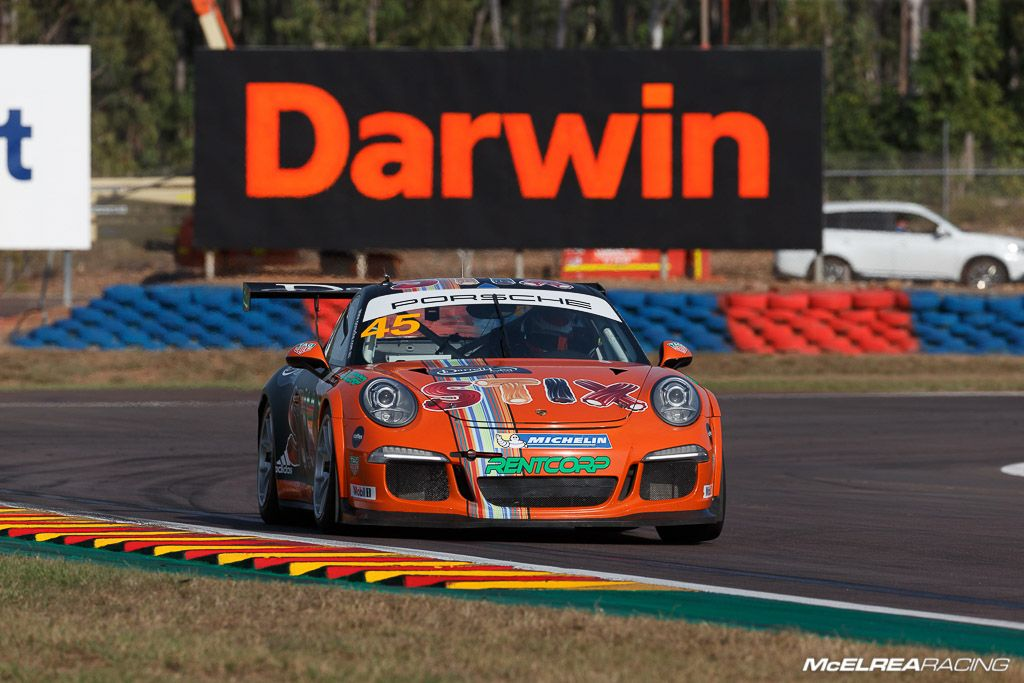 Duvashen Padayachee had a tough weekend at Darwin