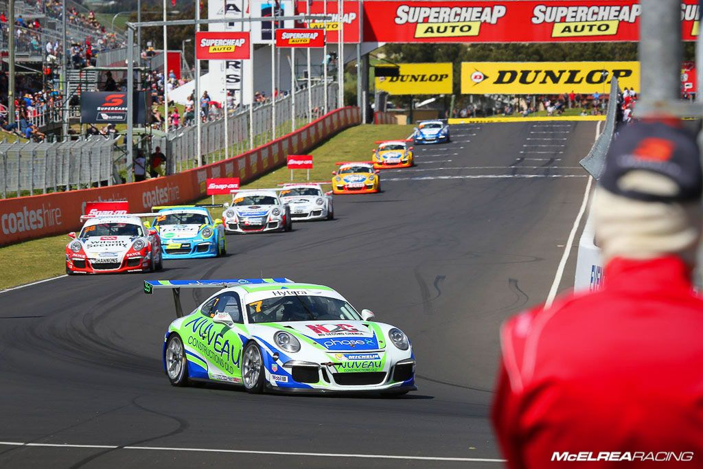 Matt Campbell in the Porsche Carrera Cup at Bathurst