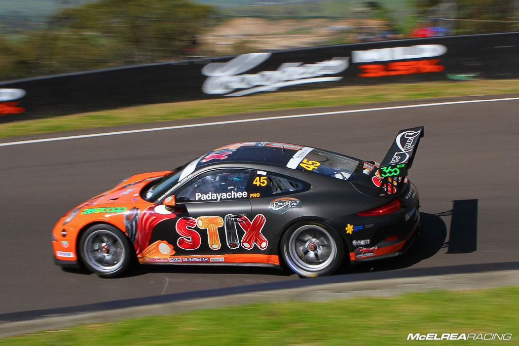 Duvashen Padayachee in the Porsche Carrera Cup at Bathurst