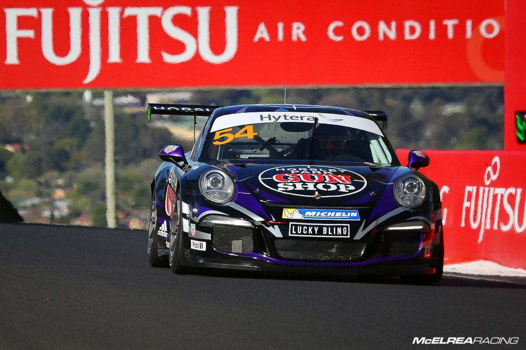 James Abela in the Porsche Carrera Cup at Bathurst