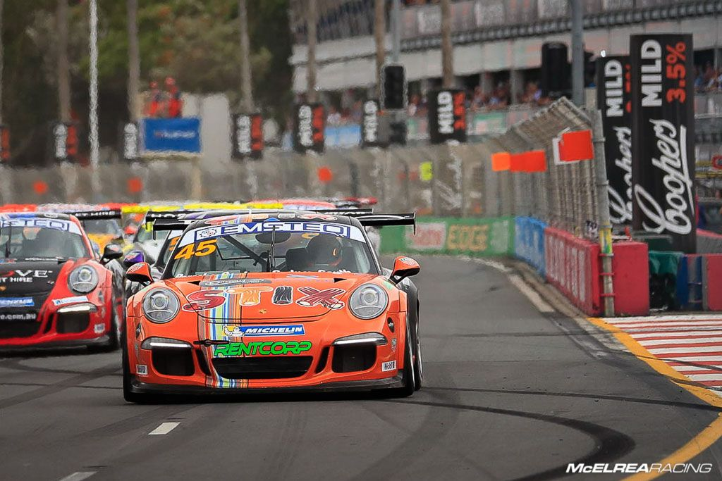 Duvashen Padayachee in the Porsche Carrera Cup at Surfers Paradise
