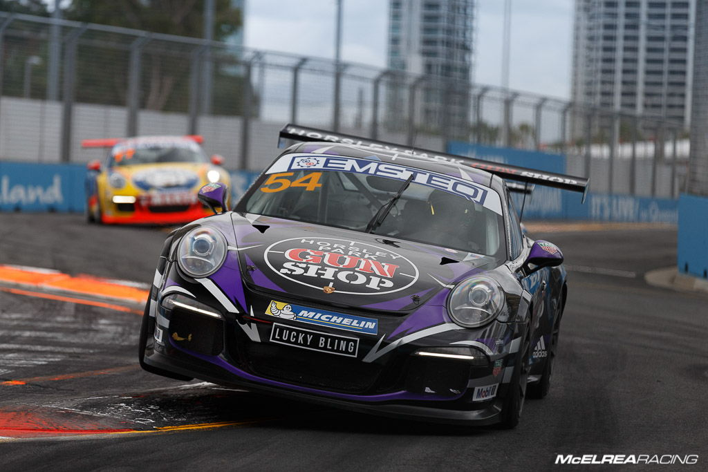 James Abela in the Porsche Carrera Cup at Surfers Paradise