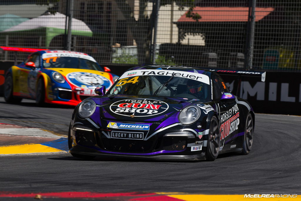 MR Driver James Abela at the Clipsal Street Circuit 2017