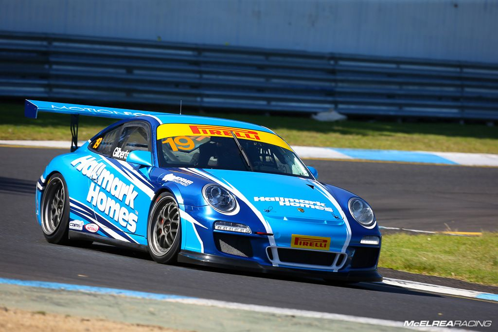 Anthony Gilbertson in the GT3 Cup Challenge at Sandown