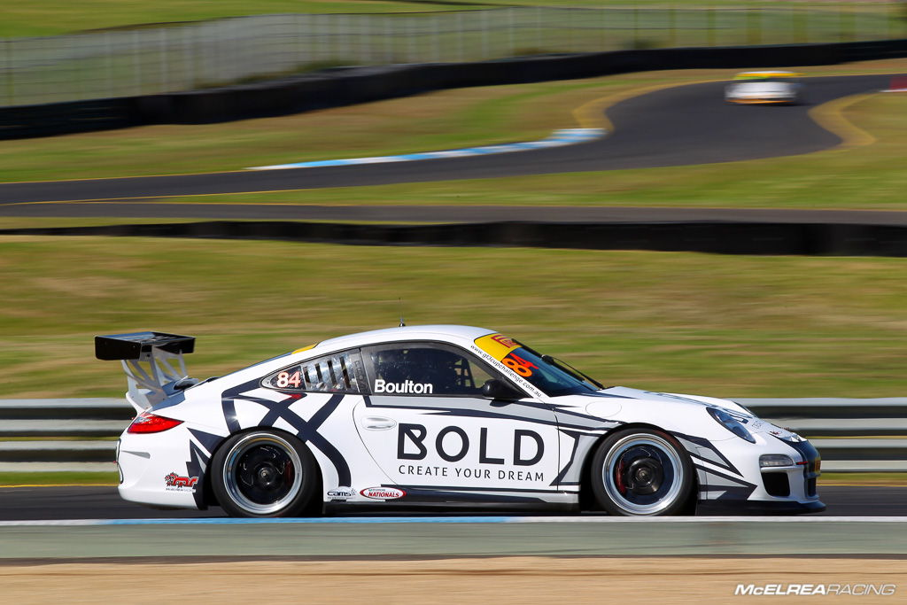 Brett Boulton in the GT3 Cup Challenge at Sandown