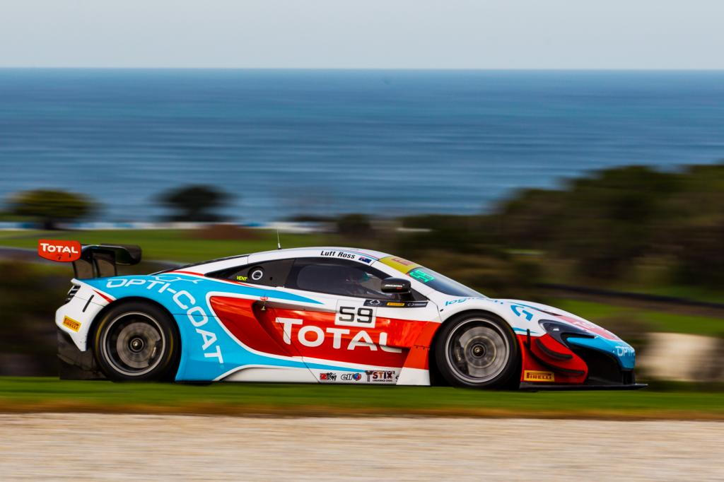 Fraser Ross & Warren Luff at Phillip Island with McElrea Racing