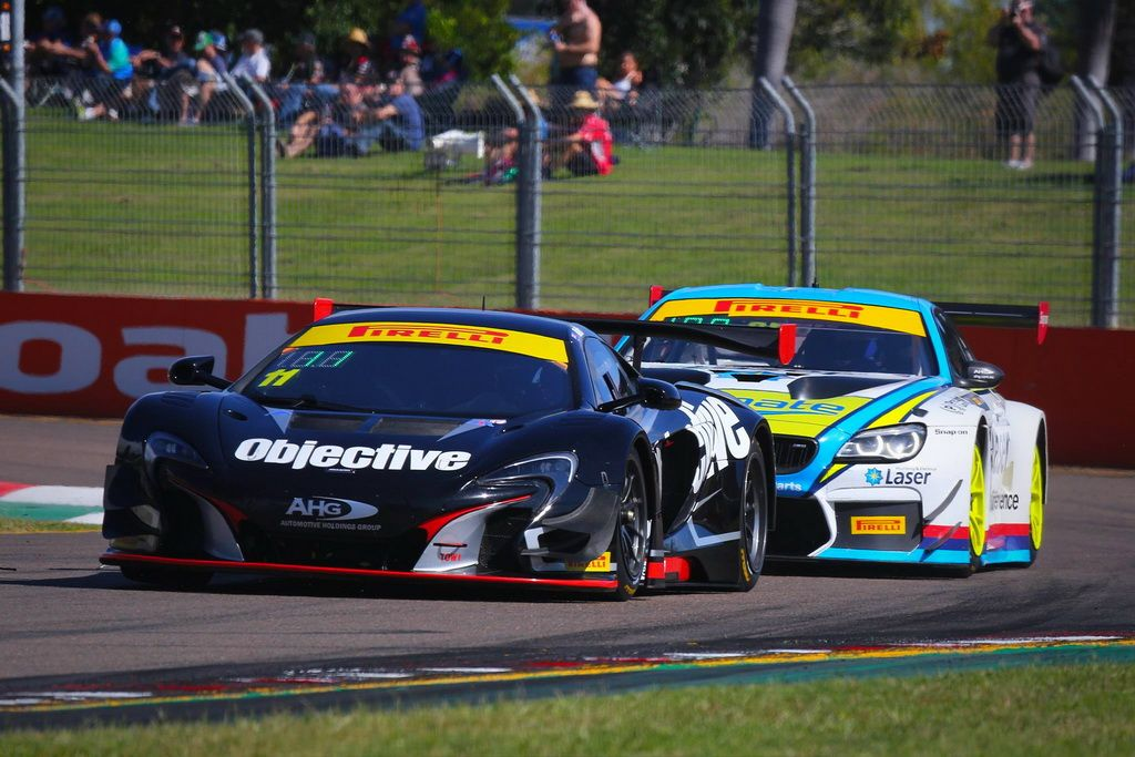 Tony Walls with McElrea Racing at Townsville Street Circuit