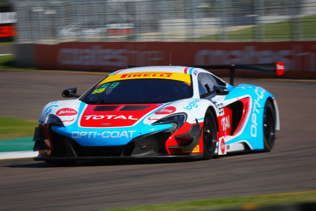 Fraser Ross with McElrea Racing at Townsville Street Circuit