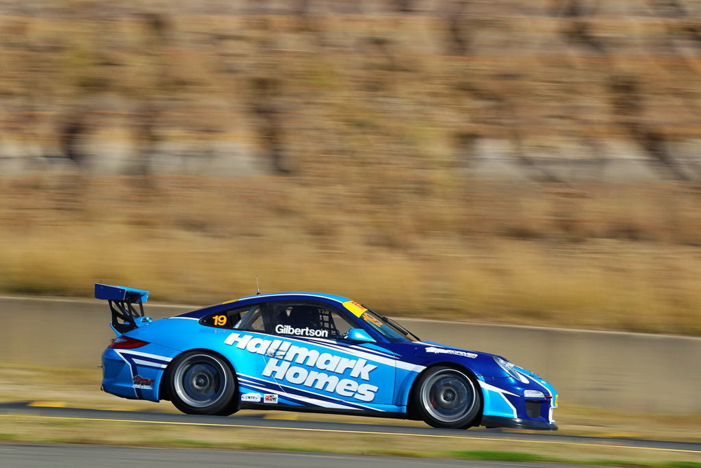 Anthony Gilbertson with McElrea Racing at Sydney Motorsport Park