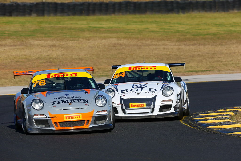 Brett Boulton with McElrea Racing at Sydney Motorsport Park