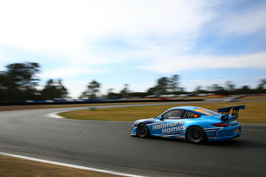 Anthony Gilbertson with McElrea Racing at Queensland Raceway