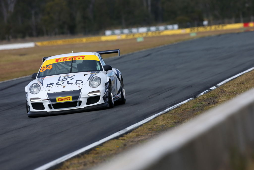 Brett Boulton with McElrea Racing at Queensland Raceway