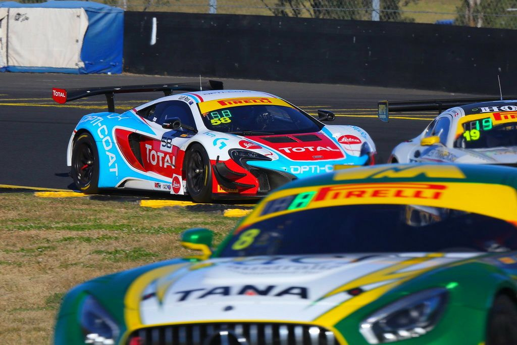 Fraser Ross and Warren Luff with McElrea Racing at Eastern Creek
