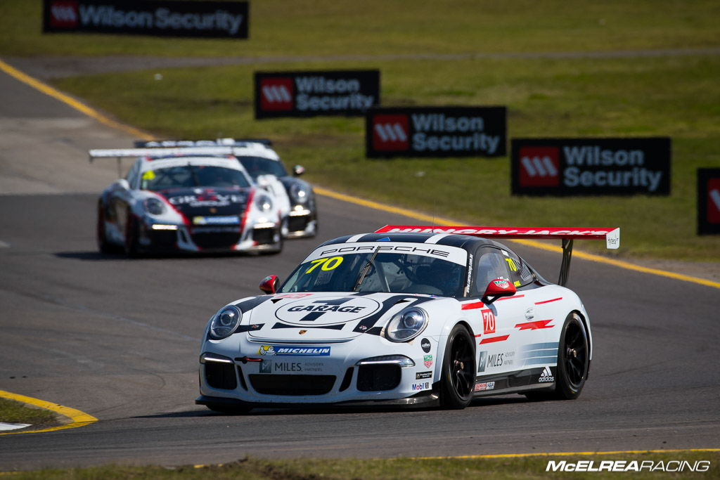 Tim Miles with McElrea Racing at Sandown