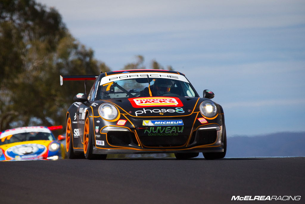 Jaxon Evans with McElrea Racing at Bathurst