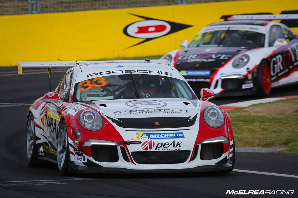 Simon Ellingham with McElrea Racing at Bathurst