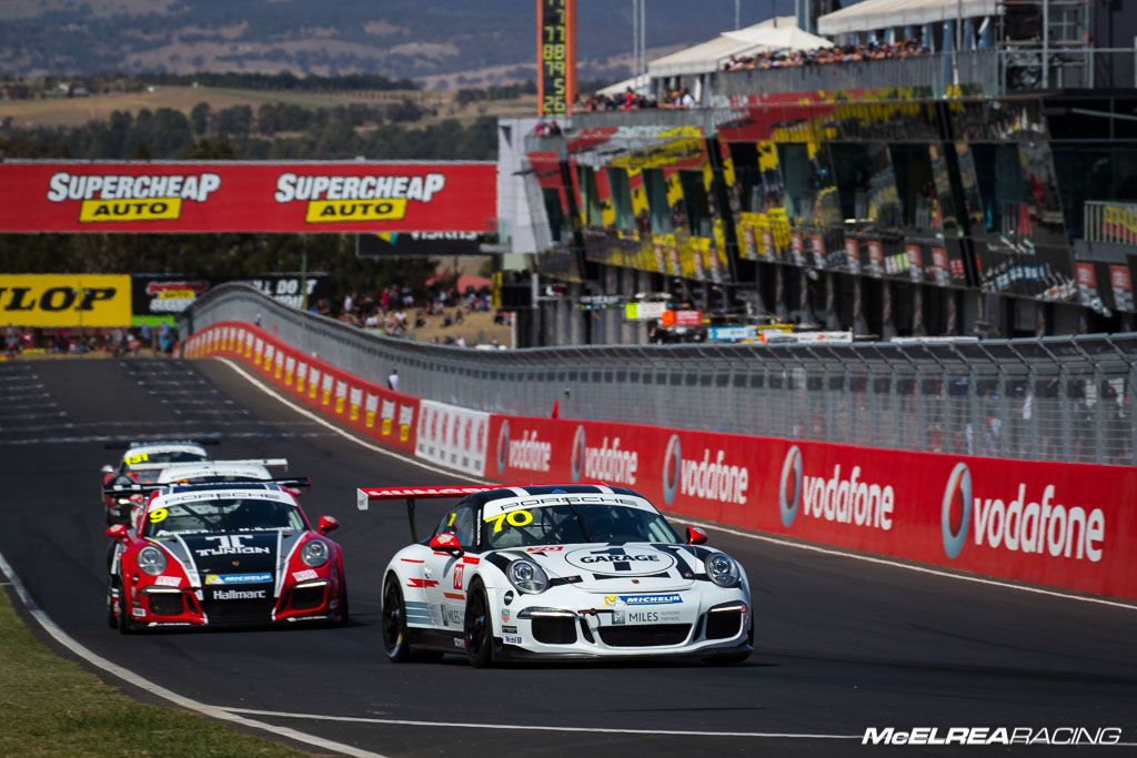 Tim Miles with McElrea Racing at Bathurst