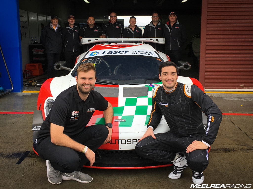 McElrea Racing with Frazer Ross and Alvaro Parente at Hampton Downs