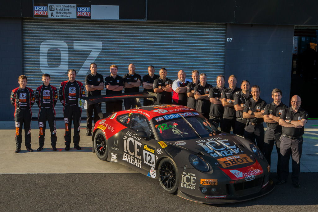 McElrea Racing at the Bathurst 12 hour 2018