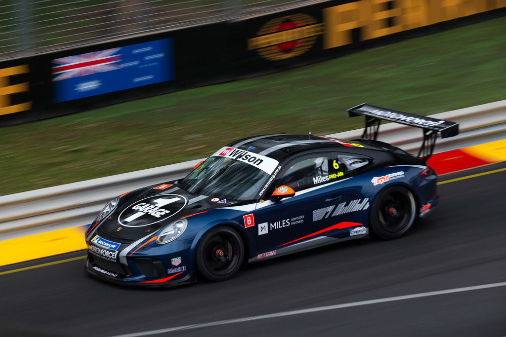 Tim Miles with McElrea Racing at the 2018 Porsche Carrera Cup Round 1