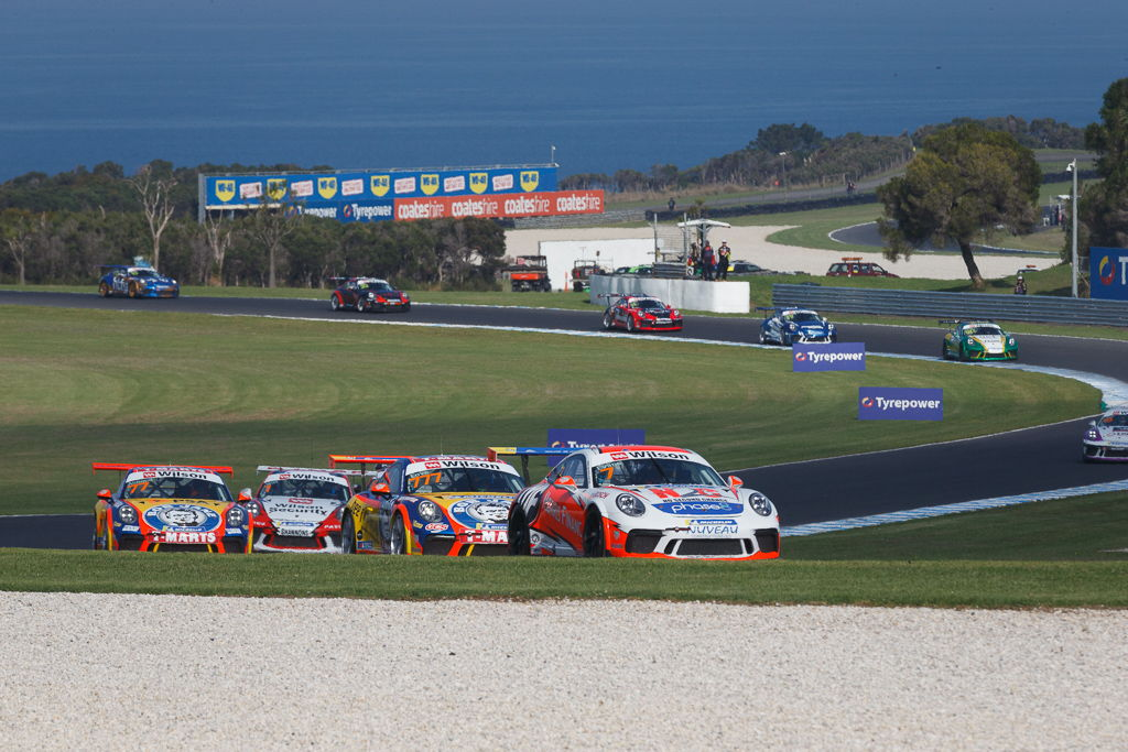 Jaxon Evans with McElrea Racing at Phillip Island