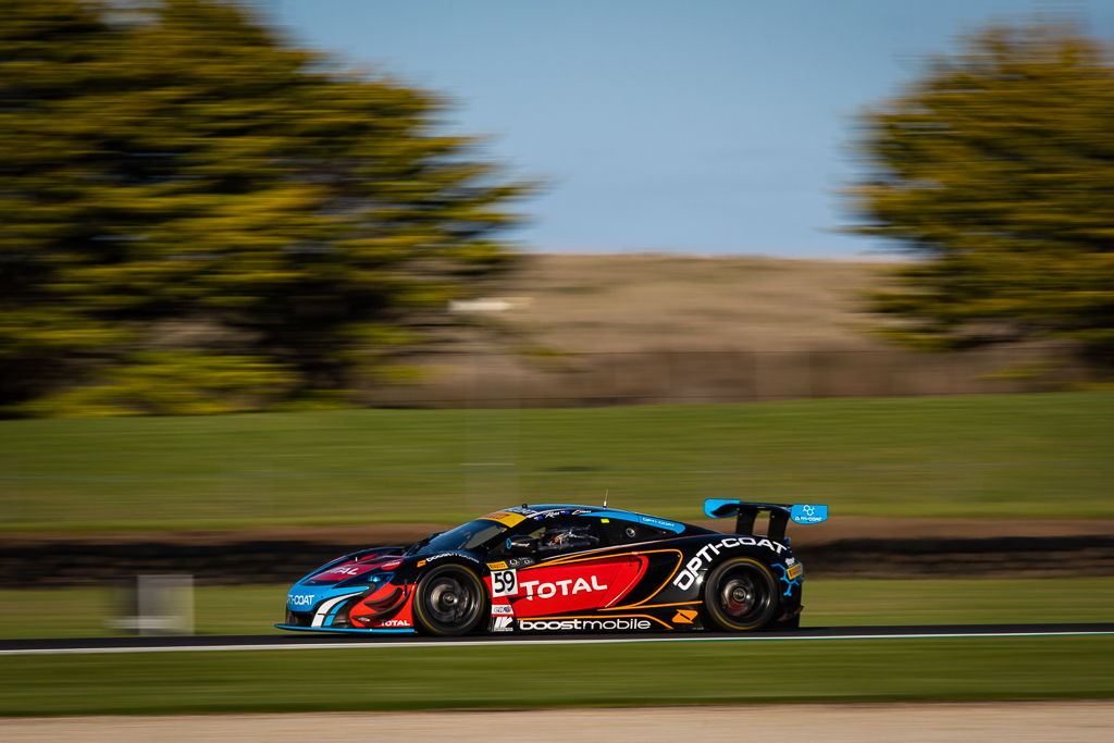 Fraser Ross and Jaxon Evans with McElrea Racing in the Australian GT at Phillip Island