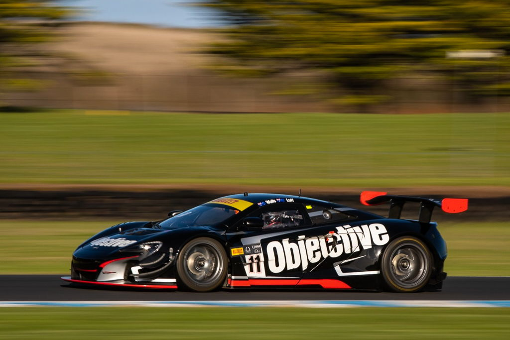 Tony Walls and Warren Luff with McElrea Racing in the Australian GT at Phillip Island