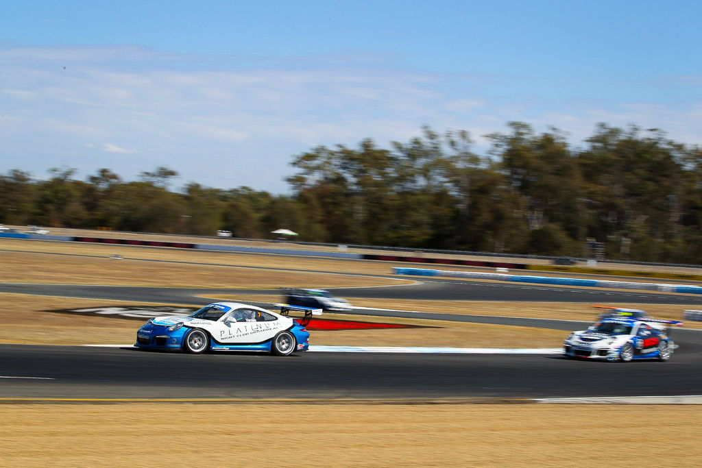 Jimmy Vernon with McElrea Racing at Queensland Raceway