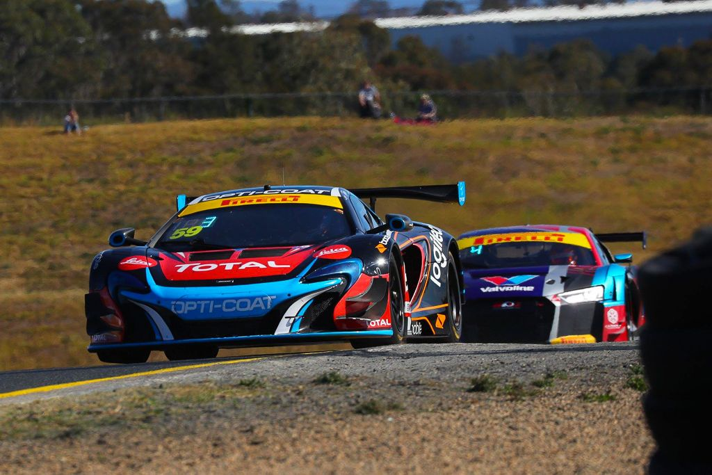 Fraser Ross with McElrea Racing at Sydney Motorsport Park for round 5 of the 2018 Australian GT championship