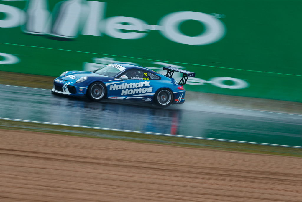 Anthony Gilbertson with McElrea Racing at Bathurst for round 7 of the 2018 Porsche Carrera Cup Championship