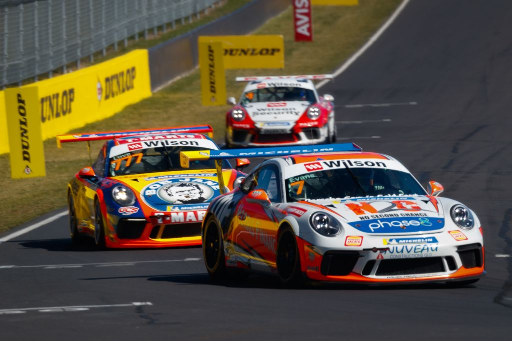 Jaxon Evans with McElrea Racing at Bathurst for round 7 of the 2018 Porsche Carrera Cup Championship