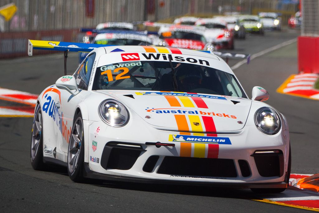 Adam Garwood with McElrea Racing at Surfers Paradise for round 8 of the 2018 Porsche Carrera Cup Championship