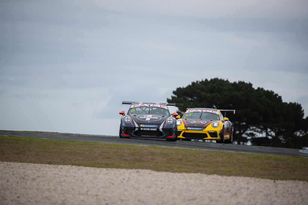 Tim Miles with McElrea Racing in the Porsche Carrera Cup at Phillip Island