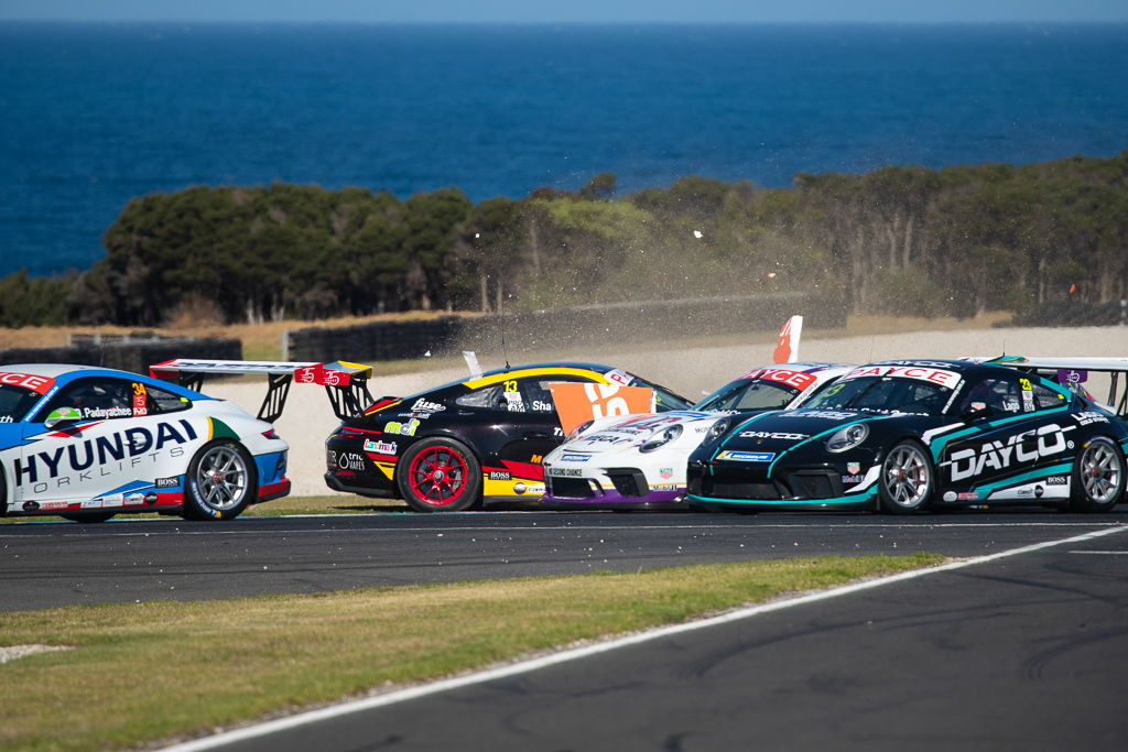 Warren Luff with McElrea Racing in the Porsche Carrera Cup at Phillip Island