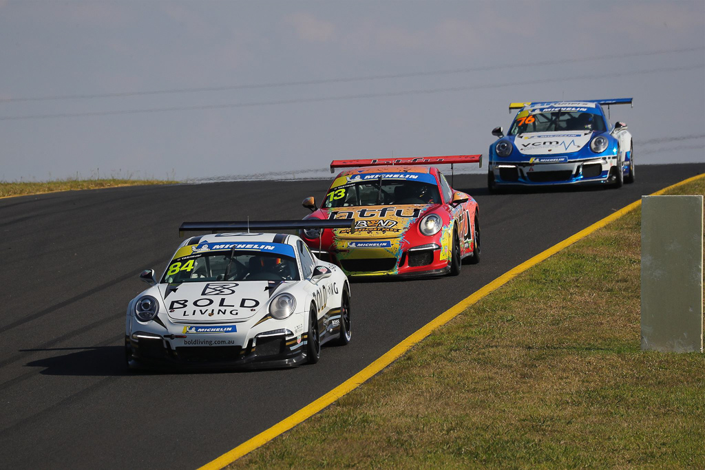 Brett Boulton at Sydney Motorsport Park with McElrea Racing for Round 2 of the Porsche GT3 Cup Challenge
