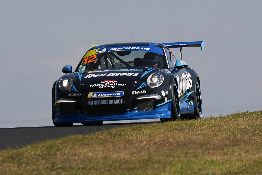 Harri Jones at Sydney Motorsport Park with McElrea Racing for Round 2 of the Porsche GT3 Cup Challenge