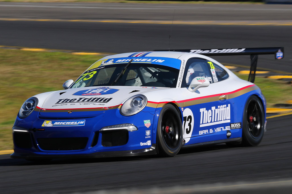 Michael Hovey at Sydney Motorsport Park with McElrea Racing for Round 2 of the Porsche GT3 Cup Challenge