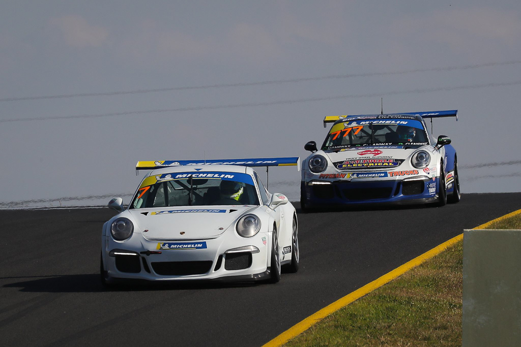 Ryan Suhle at Sydney Motorsport Park with McElrea Racing for Round 2 of the Porsche GT3 Cup Challenge