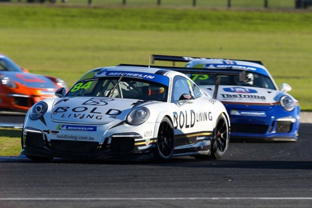 Brett Boulton with McElrea Racing at Phillip Island for Round 3 of the Porsche GT3 Cup Challenge 2019