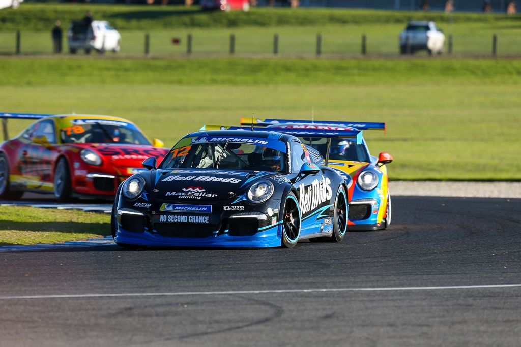 Harri Jones with McElrea Racing at Phillip Island for Round 3 of the Porsche GT3 Cup Challenge 2019