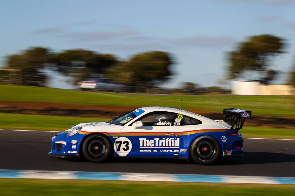 Michael Hovey with McElrea Racing at Phillip Island for Round 3 of the Porsche GT3 Cup Challenge 2019