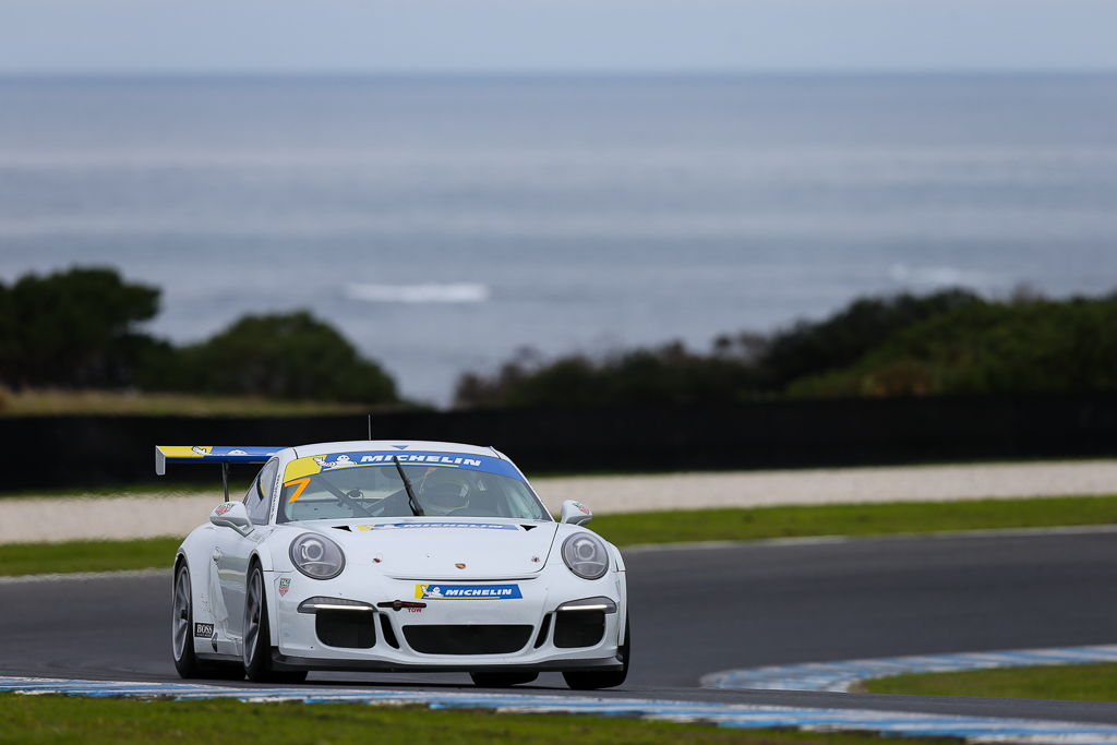 Ryan Suhle with McElrea Racing at Phillip Island for Round 3 of the Porsche GT3 Cup Challenge 2019