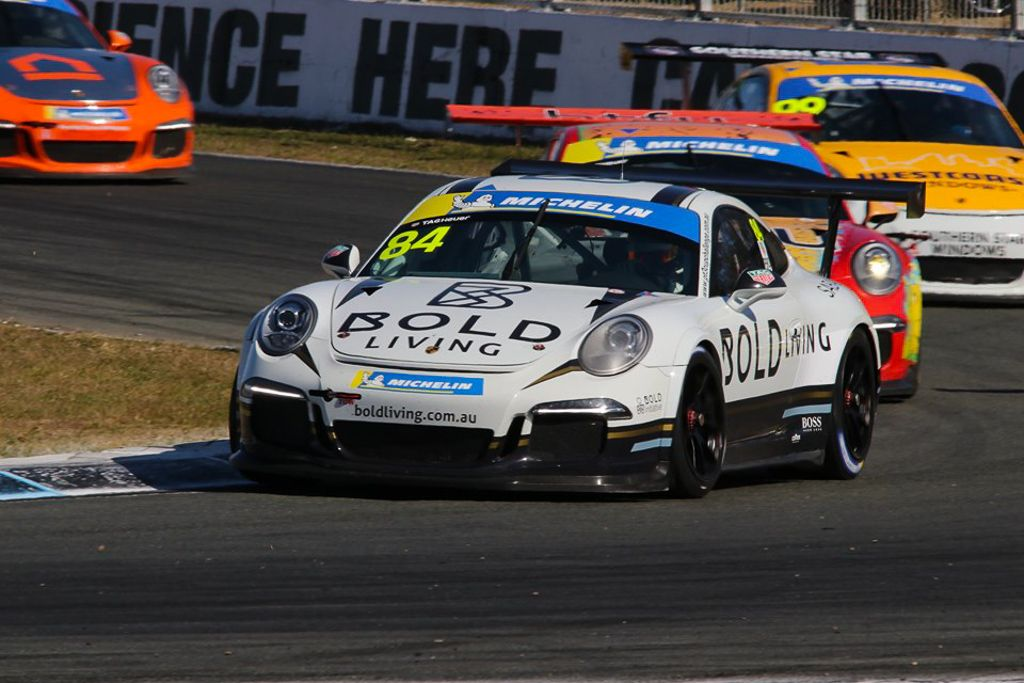 Brett Boulton with McElrea Racing at Queensland Raceway for round 4 of the Porsche GT3 Cup Challenge 2019