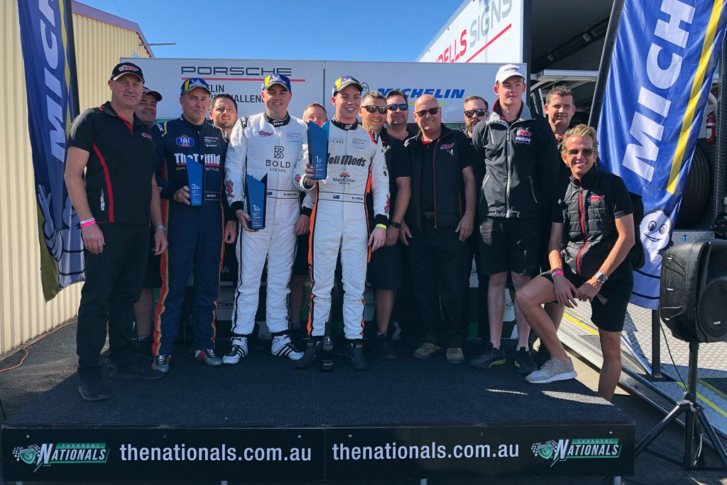 McElrea Racing at Queensland Raceway for Round 4 of the Porsche GT3 Cup Challenge 2019