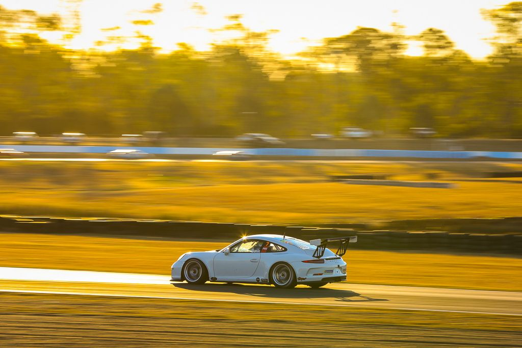 Ryan Suhle with McElrea Racing at Queensland Raceway for round 4 of the Porsche GT3 Cup Challenge 2019
