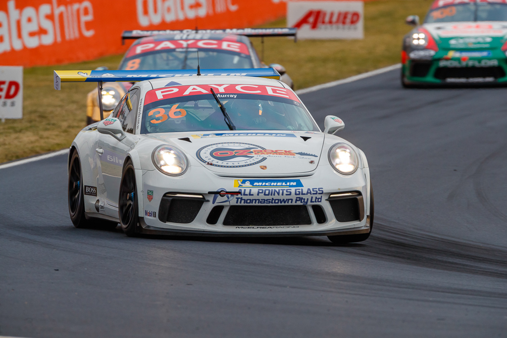 Cooper Murray with McElrea Racing in the Porsche Carrera Cup at Bathurst