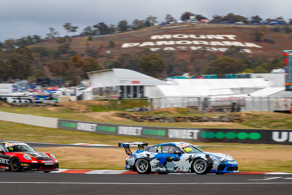 David Ryan with McElrea Racing in the Porsche Carrera Cup at Bathurst