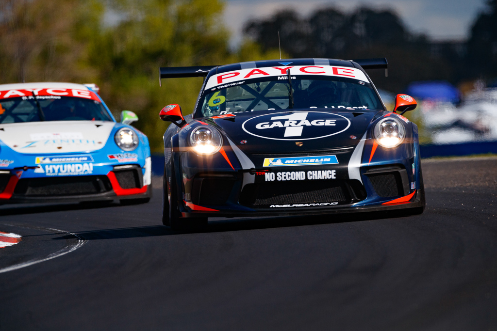 Tim Miles with McElrea Racing in the Porsche Carrera Cup at Bathurst