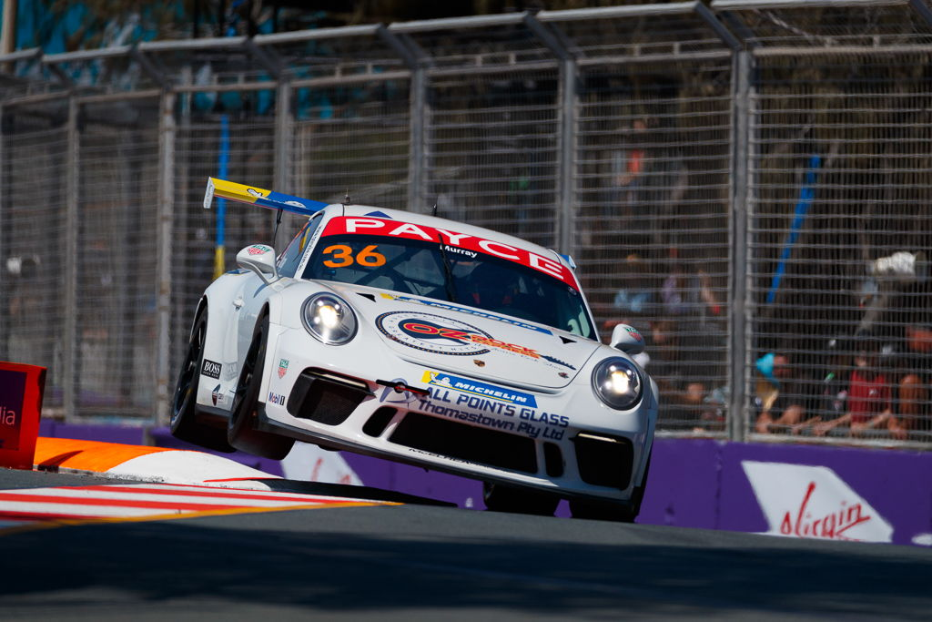 Cooper Murray with McElrea Racing in the Porsche Carrera Cup at Surfers Paradise